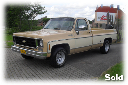 Chevy Silverado Big 10 P U 1978